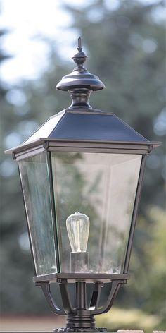 Gründerzeit-Gartenlampe aus Aluguss SO 50 von Schlesische Laternen