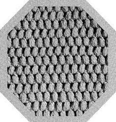 Crochet Pattern Square No. 20, Volume 64 | Purple Kitty
