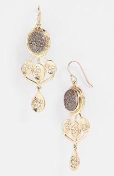 Melinda Maria 'Julian' Drusy Drop Earrings available at #Nordstrom