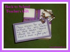 Useful Back to School Gifts for Preschool/Elementary Teachers #backtoschool #inspireothers