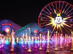 World of Color is a must see if your going to Disneyland, it is awesome.