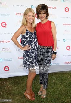 News Photo : Star and Host Kelly Ripa and QVC Red Carpet Host...