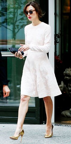 Look of the Day - June 29, 2014 - Keira Knightley from #InStyle