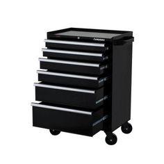 Husky 3-Drawer Mechanics Mobile Rolling Utility Tool Cart Cabinet ...
