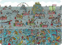 Where is Wally/Waldo? Postcard from Brumby in Adelaide, Australia Hidden Pictures, Funny Pictures, Ou Est Charlie, Wheres Wally, Hidden Words, Funny Happy, Art Lessons, Art For Kids, 3 D