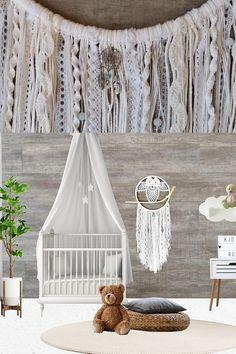 Woodland Nursery Decor, Nursery Wall Decor, Nursery Room, Girl Nursery, Girl Room, Nursery Ideas, Bedroom, Boho Baby, Boho Girl