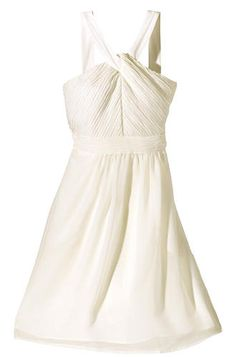 Target's bridal collection: This is in the bridesmaids section, but would make a cute gown for an informal ceremony, or a nice dress for your rehearsal dinner or bridal shower.