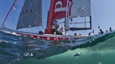 AWESOME pic of Luna Rossa at #ACWSNaples  © PHOTO: © CARLO BORLENGHI