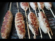 Calzone, Baked Potato, Sausage, Grilling, Pizza, Meat, Baking, Ethnic Recipes, Youtube