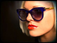 Thierry Lasry - I tried these on once and cannot get them out of my head. WANT.