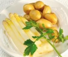 Rezept Spargel mit Kartoffeln von Thermomix Rezeptentwicklung - Rezept der Kategorie Hauptgerichte mit Gemüse