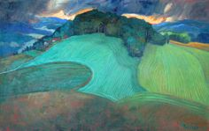 Miroslav Bucher olej 70x100Portret zeme-polia Miro, Painting, Pulley, Painting Art, Paintings, Paint, Draw