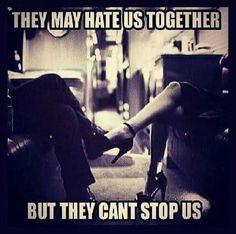 Keep hatin
