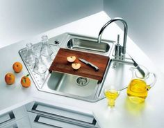 Creative Corner Kitchen Sink Design Ideas For Your Home