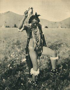 Algonquin shaman,Canada