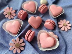 Griotkové makronky - Víkendové pečení Macarons, Baked Goods, Cheesecake, Cupcakes, Sugar, Cookies, Desserts, Bude, Pastries