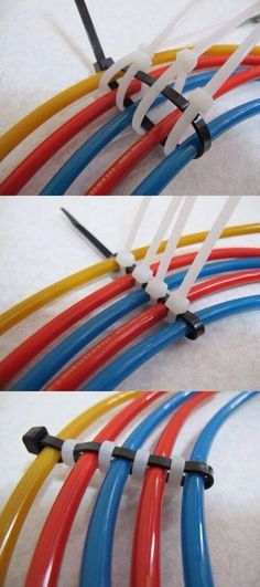 The best DIY projects & DIY ideas and tutorials: sewing, paper craft, DIY. Ideas About DIY Life Hacks & Crafts 2017 / 2018 Cable management -Read
