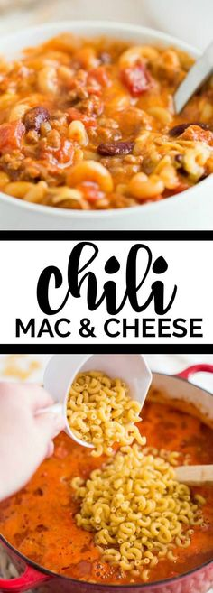 Hearty and filling, this delicious Chili Mac & Cheese Recipe is a family favorite! #Febreze #ad