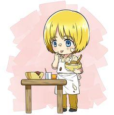 Shingeki no Kyojin, Armin Arlert,
