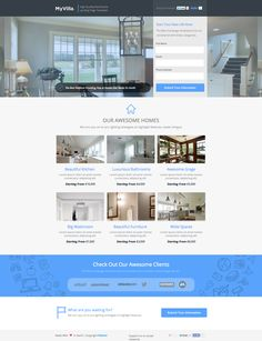 See the live template on Themeforest ➜ http://themeforest.net/item/myvilla-real-estate-instapage-template/9497559