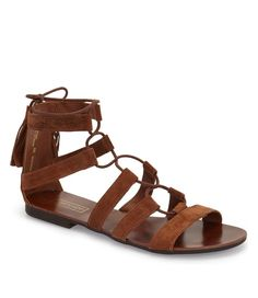topshop lace-up sandal