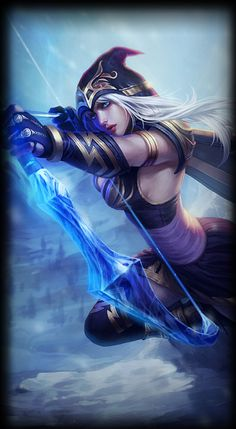 Ashe/Abilities Ashe/Quotes Ashe/Development Ashe/Skins ↑ Ashe's profile page at…