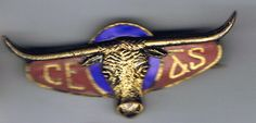 Calgary Stampede companion pin unknown date Calgary, Rodeo, Bull Riding