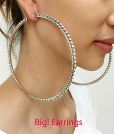 Big Statement Earring are all the rage for 2018