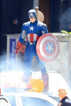 Captain America in the Avengers which shot in Cleveland