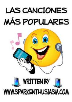 Spanish Song Unit with Lyrics and Cloze Activities / Las Canciones