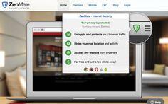 前幾天因為介紹「微軟 OneDrive 100 GB 容量升級教學」需要使用到 VPN 跳板,上網尋找相關工具,因緣際會發現一款名為 ZenMate 的 Google Chrome 擴充功能相當簡單易用,而且完全免費。ZenMate 能以最簡單的方式提供使用者在瀏覽器端的加密傳輸、安全隱私防護,並能隱藏你的真