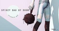 Spikey Bag of Doom by AsteroidBox | Teleport Hub - Second Life Freebies | Second Life Freebies | Scoop.it