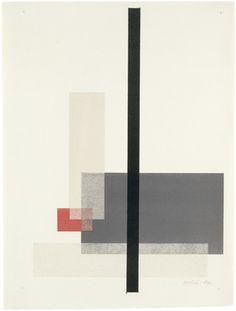Konstruktivistische Komposition, pl. 6 (from Meistermappe des Staatlichen Bauhauses) by László Moholy-Nagy