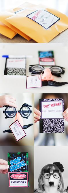Annual Pack Campout???  Spy/CSI (Cub Scout Investigators)   ...love the glasses!