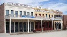 Old Sacramento California is reportedly haunted by victims of influenza, fire, and flooding. It was featured on Ghost Adventures.