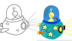 Comment dessiner une petite soucoupe volante