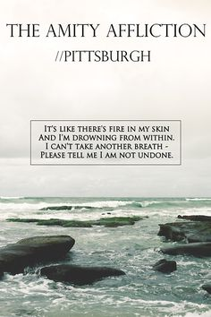 The Amity Affliction. Pittsburgh.