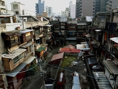 Image result for japanese slums