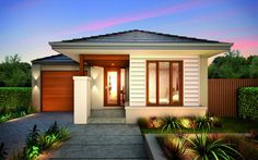 Metricon home designs the soho metro facade visit www for Beach home designs victoria