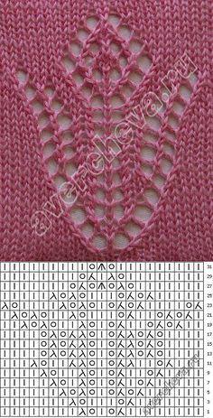 fondo con motivos de flores de punto de calcetería | patrón de tejer con agujas directorio