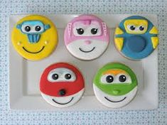 Image result for super wings cupcakes