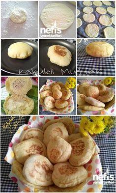 Tavada Mini Ekmek (Pita Ekmeği) Tarifi nasıl yapılır? 12.810 kişinin defterindeki bu tarifin resimli anlatımı ve deneyenlerin fotoğrafları burada. Yazar: Kakuleli Mutfak