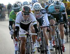 Dennis Vanendert behind world champion Gilbert Paris-Nice stage 1