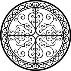 Website with medallion graphics. Use/modify as stencils for projects?
