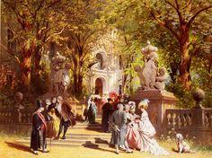 Johann Friedrich Hennings, After Church