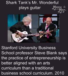 Brain Facts, Art Curriculum, Stanford University, Shark Tank, Business School, Playing Guitar, Entrepreneurship, Professor, Make Me Smile