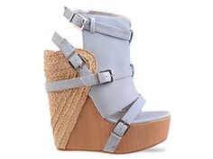 $264.95 awesome wedges distinct style and exaggerated shapes really make a statement out of a pastel shoe