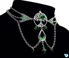 Samhain Jewelry, Boho Tree of life, Woodland Rustic wedding Pagan necklace…