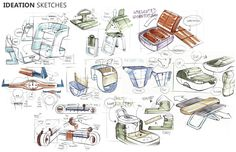 SKETCHBOOK by Pascal RUELLE, via Behance.