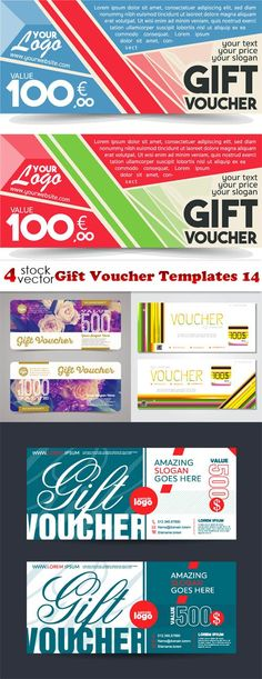 Gift voucher for pizza store Download, Voucher and Giftss - coupons design templates
